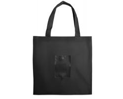Skládací nákupní taška NODES - černá
