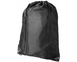 Kvalitní batůžek UGGO se stahovací šňůrkou - černá