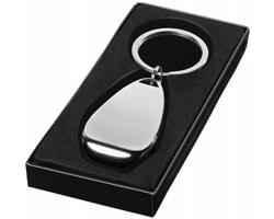 Kovový přívěsek na klíče otvírák na lahve YOUNG - stříbrná