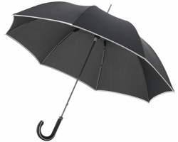 Deštník s ozdobnou rukojetí Balmain UMBRELLA 23 - černá
