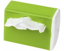 Plastový autodržák na odpadkové sáčky KLOOF - bílá / jemně zelená