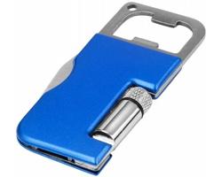 Multifunkční otvírák na lahve ATTAR, 3 funkce - královská modrá