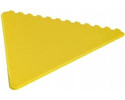 Plastová škrabka na led SAVED - žlutá