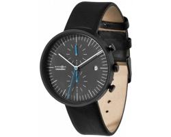 Vodotěsné hodinky Marksman OBSERVER se světelkujícími ručičkami v dárkové krabiččce - černá