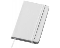 Mini zápisník SHUT se stužkou - bílá