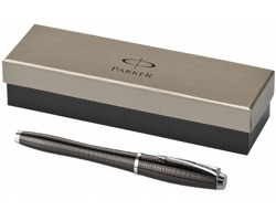 Cizelované ocelové pero Parker URBAN PREMIUM 5th - černá