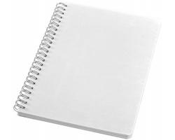 Linkovaný zápisník LIST, formát A5 - bílá