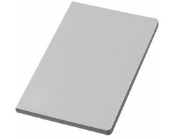 Zápisník MOUND v měkkých deskách, formát A5 - stříbrná