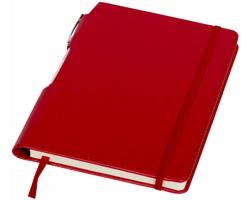 Zápisník WAYNESBORO se stříbrným perem, formát A5 - červená