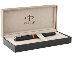 Kovové pero Parker SONNET EXPACTATION v dárkové kazetě - černá / oranžová