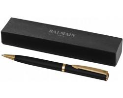 Lakované kuličkové pero Balmain MEDIC v dárkovém balení - černá