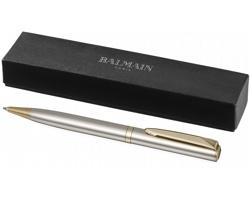 Lehké kuličkové pero Balmain HERCULE s leštěnou úpravou - zlatá