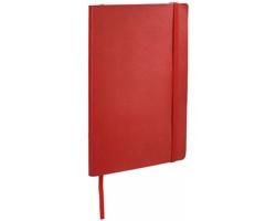 Zápisník v měkkých deskách DOWEL, A5 - červená