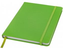 Poznámový blok KITH, A5 s elastickým zavíráním - jemně zelená