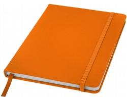 Poznámový blok KITH, A5 s elastickým zavíráním - oranžová