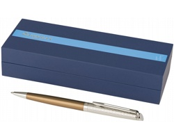 Kuličkové pero Waterman VINCI dekorované rytinou - bronzová