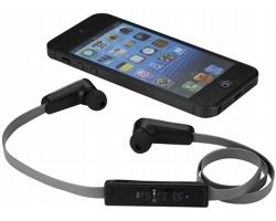 Sluchátka typu pecky Ifidelity BLURR s bluetooth, v dárkové kazetě - černá / šedá