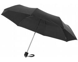 Deštník s kovovou konstrukcí CANNES, s pouzdrem - černá