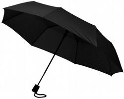 Trojdílný automatický deštník VARY - černá