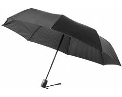 Skládací automatický deštník LAKE - černá