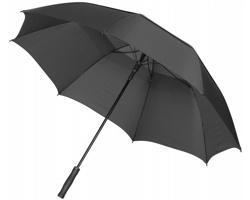 Automatický deštník SEDER - černá / šedá
