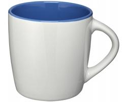 Keramický hrnek DANES, 350 ml - bílá / královská modrá