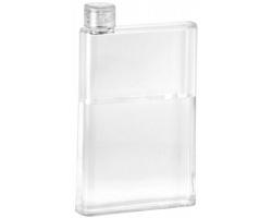 Sportovní průhledná láhev na pití HONER, 700 ml - transparentní čirá