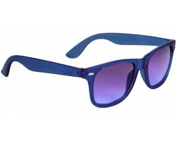 Barevné sluneční brýle WYND s křišťálovými skly - královská modrá