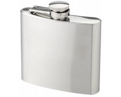 Nerezová placatka SCOFF, 150 ml - stříbrná