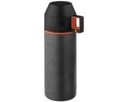 Vakuová termoska Elevate FINNO s hrnečkem, 600 ml - šedá / černá