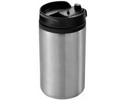 Nerezový termohrnek NEWT, 300 ml - stříbrná
