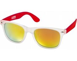 Trendy sluneční brýle US Basic CALIFORNIA - transparentní červená
