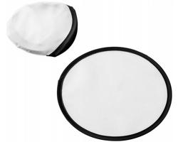 Polyesterové skládací frisbee SCOOP - bílá