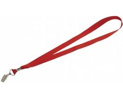 Visačka na jmenovku SPOOL s plechovou sponkou - červená