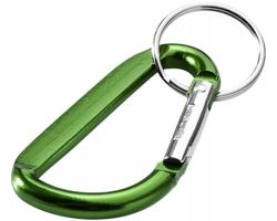 Přívěsek na klíče karabina UNIV - zelená