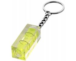 Přívěsek na klíče mini vodováha ODIN - transparentní