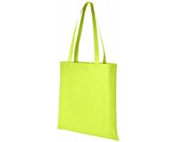 Netkaná recyklovatelná kongresová taška GAWK - jemně zelená