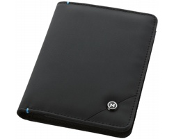 Obal na pas a doklady Marksman ODYSSEY RFID PASSPORT COVER se zabezpečovací technologií - černá