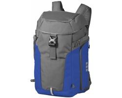 Trekový batoh Elevate REVELSTOKE HIKING BACKPACK s kovovou konstrukcí - šedá / královská modrá