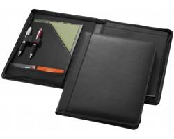 Kožené konferenční desky FARSI, A4 - černá