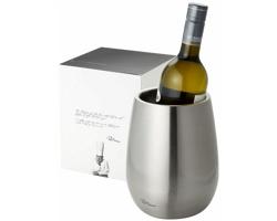 Nerezová chladicí nádoba na víno Paul Bocuse COULAN v exkluzivním designu dodávaná v dárkové kazetě - stříbrná
