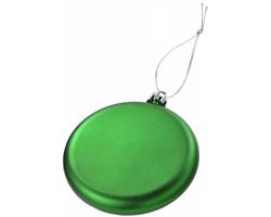Plochá vánoční ozdoba MERRY - zelená