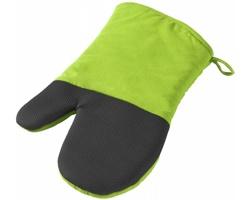 Bavlněná chňapka GARDEN CITY - jemně zelená / černá