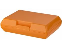 Plastová svačinová krabička SHEAR, 880 ml - oranžová