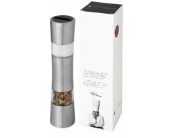 Dvoustranný nerezový mlýnek na sůl a pepř Paul Bocuse DUAL 2v1 - stříbrná
