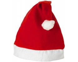 Vánoční čepice GRINCH - červená / bílá