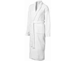 Dámský koupací plášť Seasons BLOOMINGTON se saténovými lemy - bílá