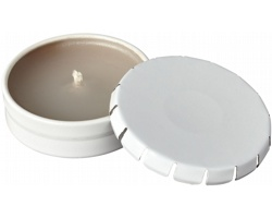 Vonná svíčka WAXIN v plechovce - bílá