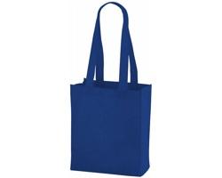 Netkaná nákupní taška SCARY s dlouhými uchy - královská modrá