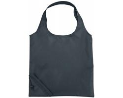 Polyesterová skládací nákupní taška GREED - šedá